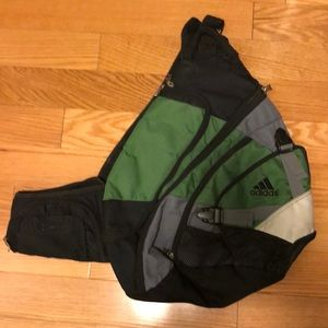 Adidas one strap athletic backpack